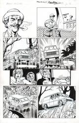 Original Art Page - Fantomen - 9 p16