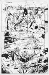 Original Art Page - Freemind - 3 pg17