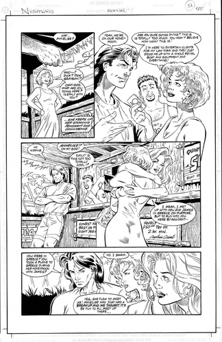 Original Art Page - Nightwing - AN 1 pg45