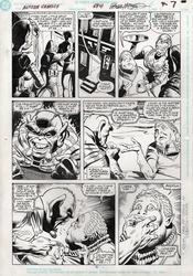 Original Art Page - Action Comics - 674 pg05