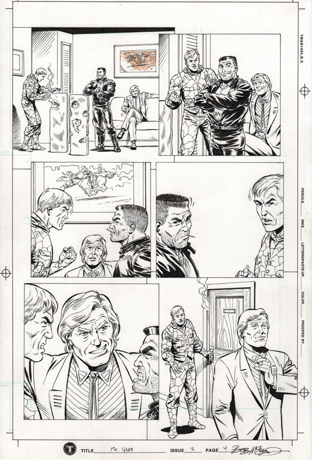 Original Art Page - Mr Hero - 2 pg04
