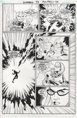 Original Art Page - Superboy - 73 pg17