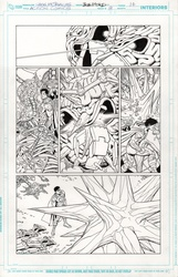 Original Art Page - Action Comics - 8 pg14