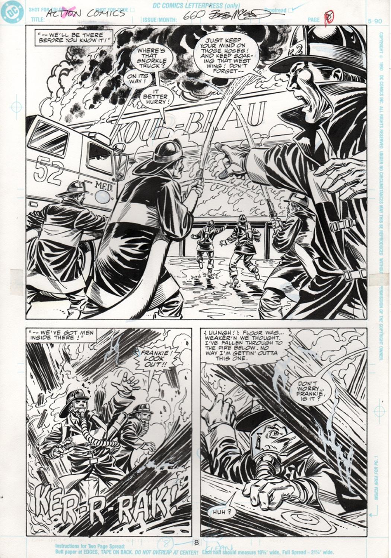 Original Art Page - Action Comics - 660 pg08