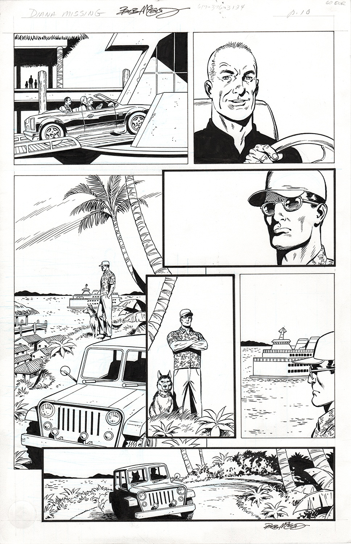 Original Art Page - Fantomen - 9 pg10
