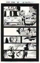 Original Art Page - Ghost Rider - 80 pg13
