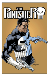 Punisher (Gold) - Color Print