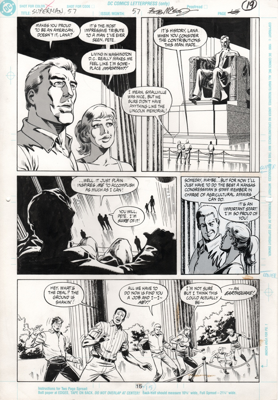 Original Art Page - Superman - 57 pg15