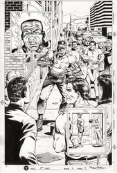 Original Art Page - Mr Hero - 2 pg05
