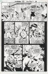 Original Art Page - Superboy - 73 pg16