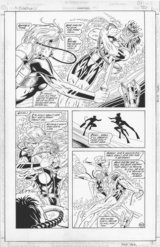 Original Art Page - Nightwing - AN 1 pg50