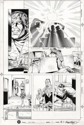 Original Art Page - Mr Hero - 2 pg19