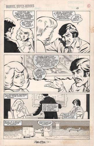 Original Art Page - Marvel Super Heroes 14 Iron Man - 10 pg10