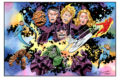 Fantastic Four - Color Print