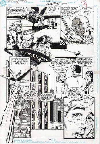 Original Art Page - Action Comics - 660 pg15