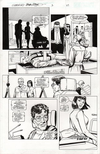 Original Art Page - Freemind - 3 pg27