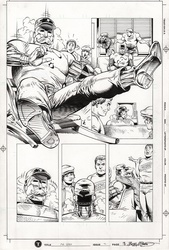Original Art Page - Mr Hero - 2 pg18