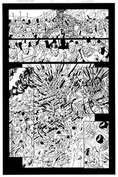 Original Art Page - The New Mutants Forever - 5 pg08