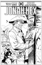 Jonah Hex - BW Print