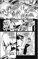 Original Art Page - Superboy - 73 pg20