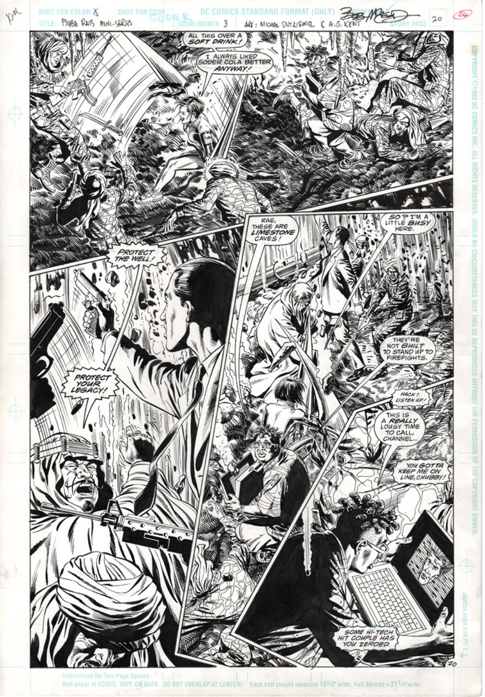 Original Art Page - Psyba Rats - 3 pg20