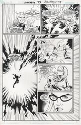 Original Art Page - Superboy - 73 pg17