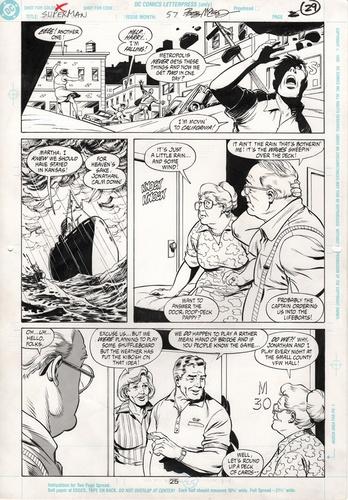 Original Art Page - Superman - 57 pg25