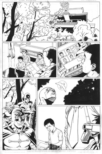 Original Art Page - JSA 80 Page Giant 2011 - 1 pg18