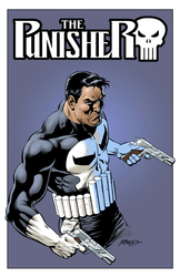 Punisher (Blue) - Color Print