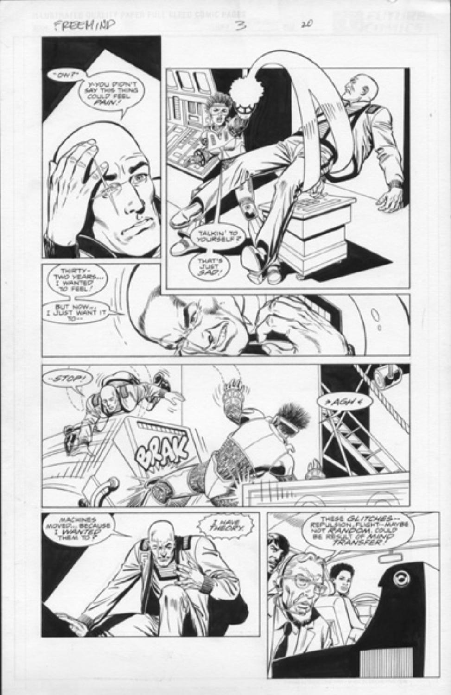 Original Art Page - Freemind - 3 pg20