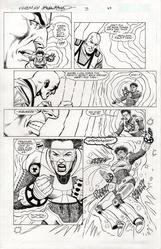 Original Art Page - Freemind - 3 pg22