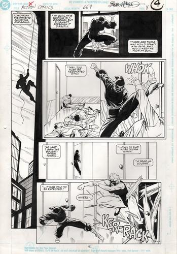 Original Art Page - Action Comics - 669 pg04