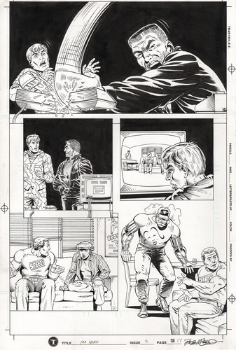 Original Art Page - Mr Hero - 2 pg17
