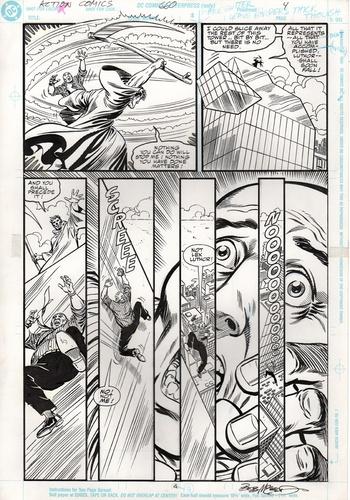 Original Art Page - Action Comics - 660 pg04