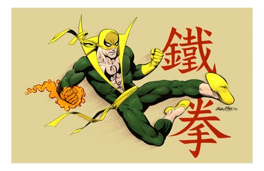 Iron Fist - Color Print