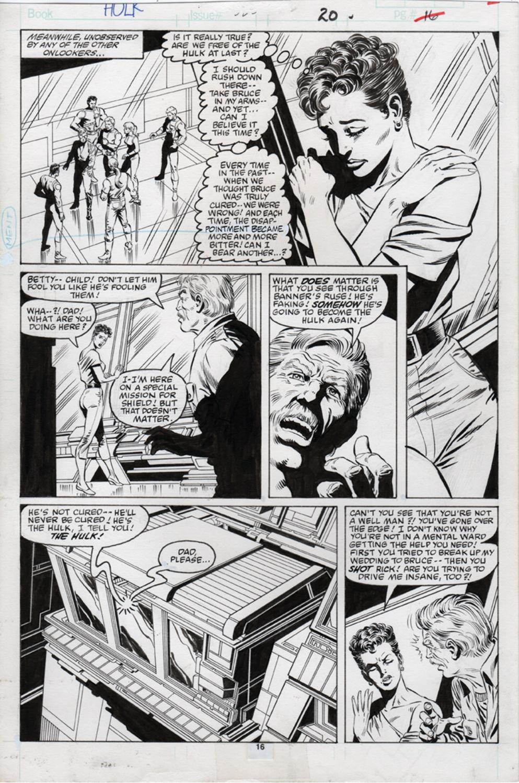 Original Art Page - Hulk - 325 pg16