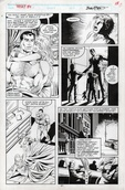 Original Art Page - What If: The Punisher's Family Hadn't Been Killed - 10 pg17