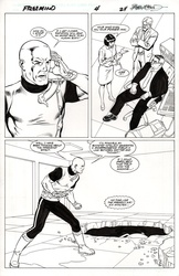 Original Art Page - Freemind - 4 pg24