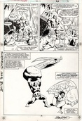 Original Art Page - Alpha Flight - Annual 2 pg31
