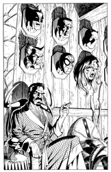 Kraven Mirror: Heroes - BW Print