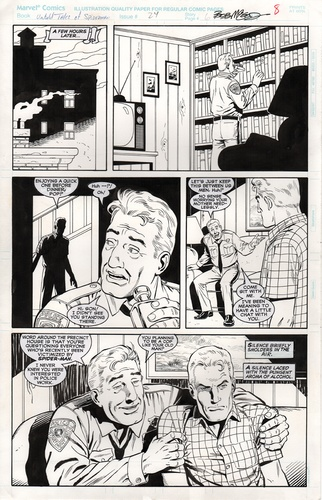 Original Art Page - Untold Tales Of Spider-Man - 24 pg08