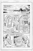 Original Art Page - Nightwing - AN 1 pg43