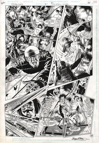 Original Art Page - Psyba Rats - 1 pg29