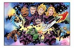 Fantastic Four - Color Print