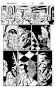 Original Art Page - The New Mutants Forever - 3 pg18