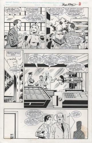 Original Art Page - Untold Tales Of Spider-Man - 25 pg08