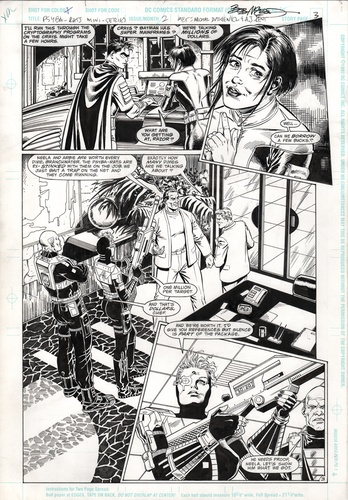 Original Art Page - Psyba Rats - 2 pg03