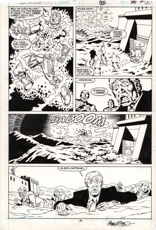 Original Art Page - Solo Avengers - 2 pg10
