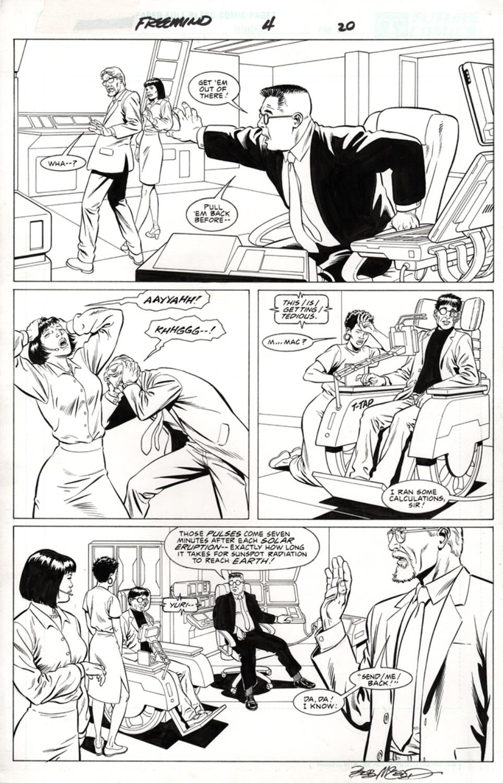 Original Art Page - Freemind - 4 pg20