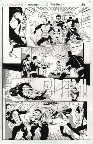Black Canary - 1 pg30